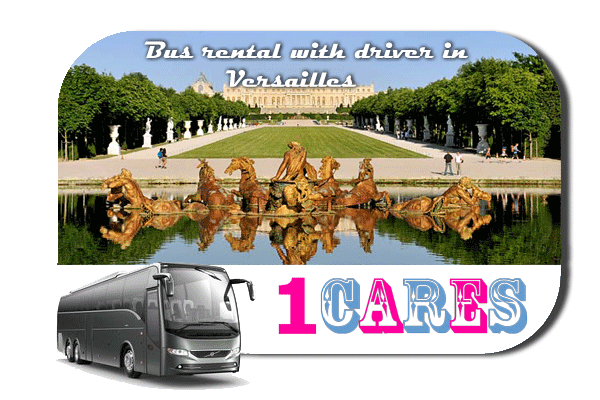 Rent a bus in Versailles