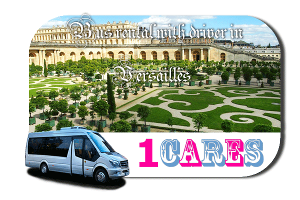Hire a bus in Versailles