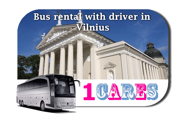 Rent a bus in Vilnius
