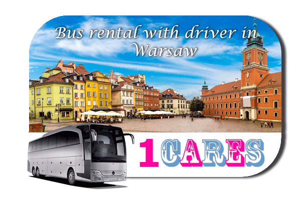 Rent a bus with driver in Warsaw
