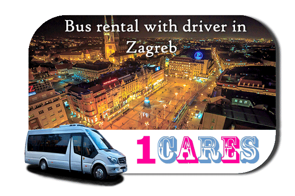 Hire a bus in Zagreb