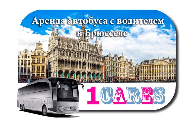 Аренда автобуса с водителем в Брюсселе