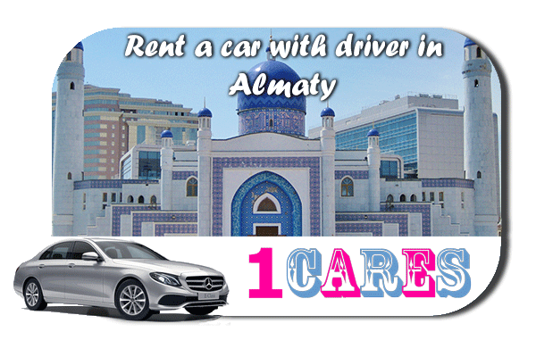 Rent a car with driver in Almaty