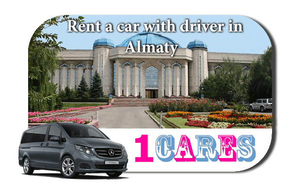 Hire a car with driver in Almaty