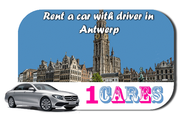 Rent a car with driver in Antwerp