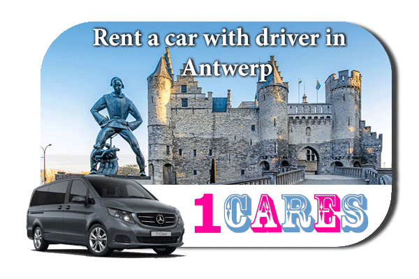 Hire a car with driver in Antwerp