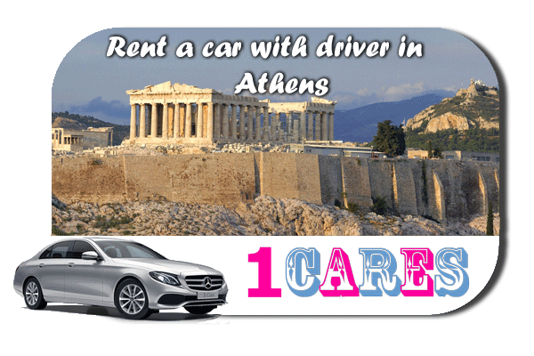 Rent a car with driver in Athens