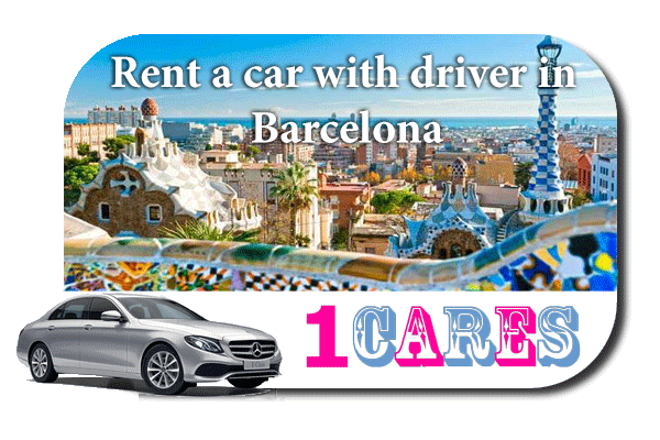 Rent a car with driver in Barcelona