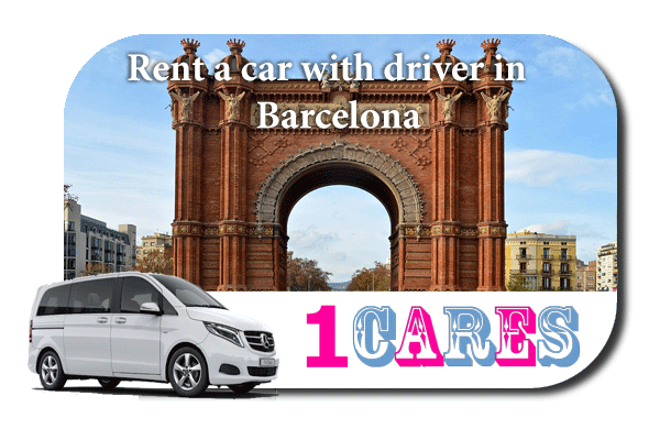 Hire a car with driver in Barcelona