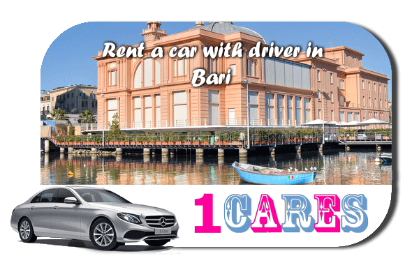 Rent a car with driver in Bari