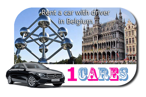 Rent a car with driver in Belgium