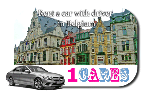 Hire a car with driver in Belgium