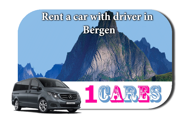 Hire a car with driver in Bergen