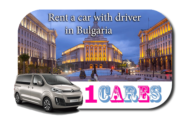 Hire a car with driver in Bulgaria