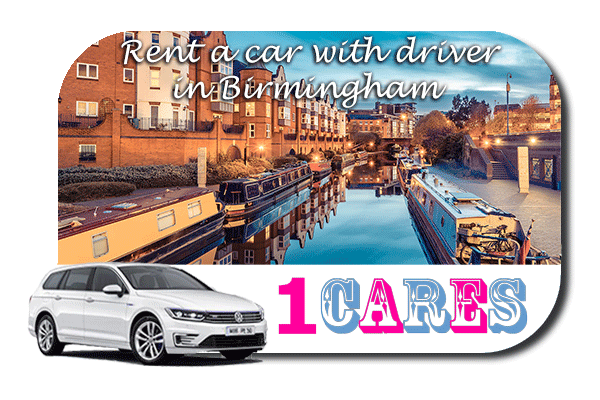 Rent a car with driver in Birmingham
