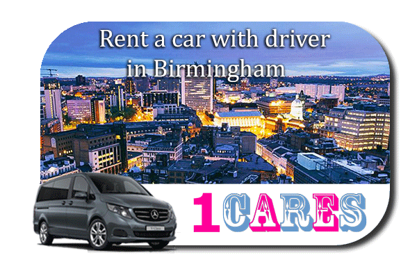 Hire a car with driver in Birmingham