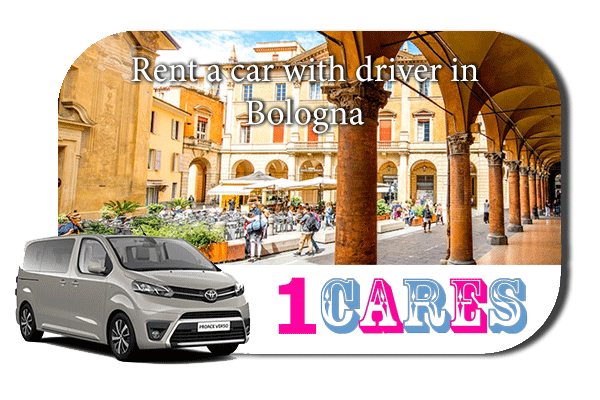 Hire a car with driver in Bologna