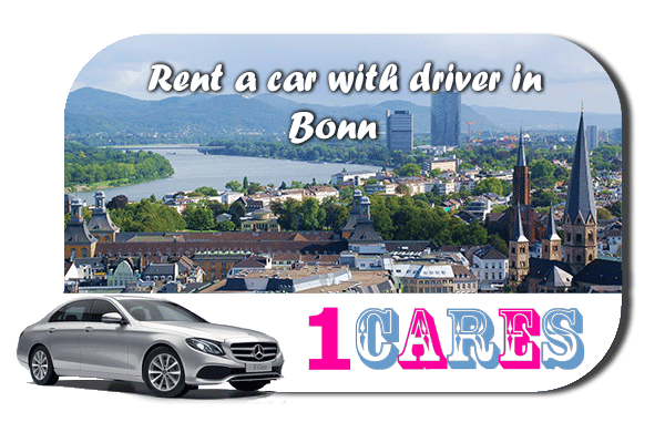 Rent a car with driver in Bonn