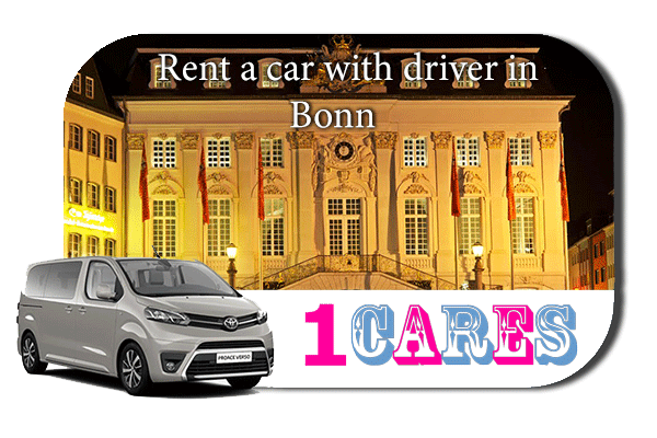 Hire a car with driver in Bonn