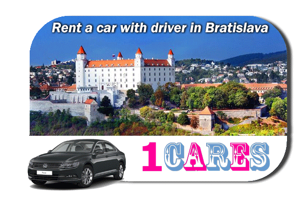 Rent a car with driver in Bratislava