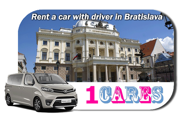 Hire a car with driver in Bratislava