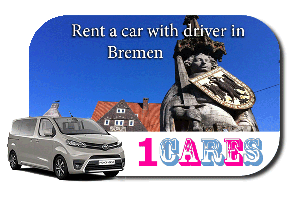 Hire a car with driver in Bremen