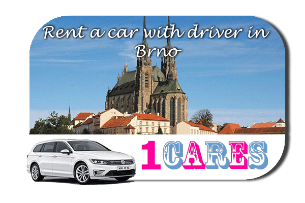 Rent a car with driver in Brno