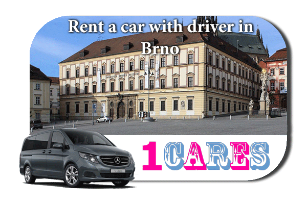 Hire a car with driver in Brno
