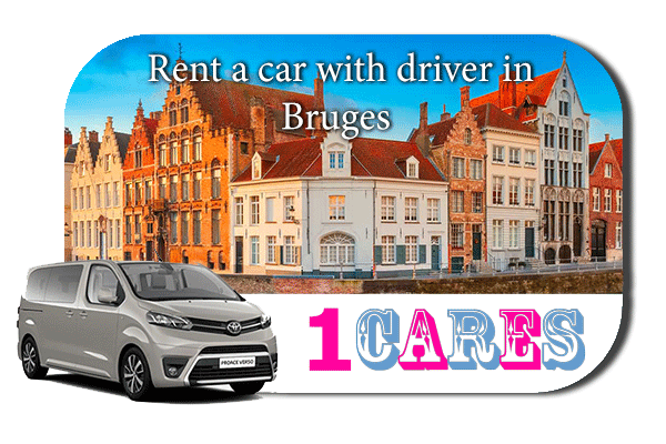 Hire a car with driver in Bruges