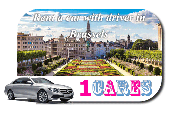 Hire a car with driver in Brussels