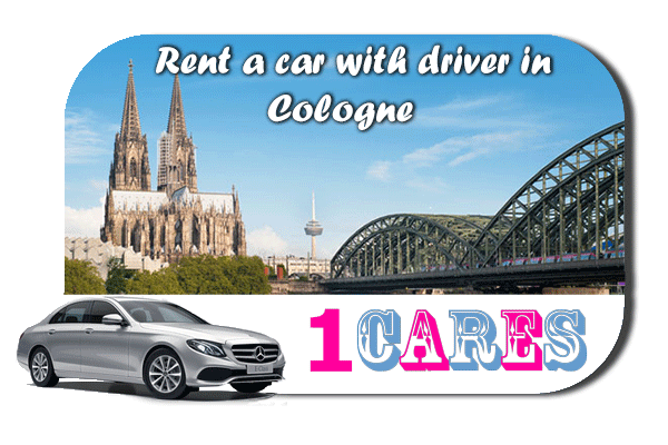 Rent a car with driver in Cologne