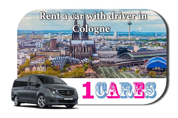 Hire a car with driver in Cologne