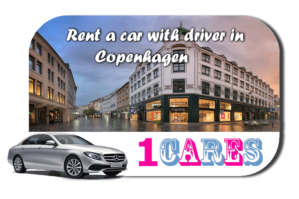 Rent a car with driver in Copenhagen