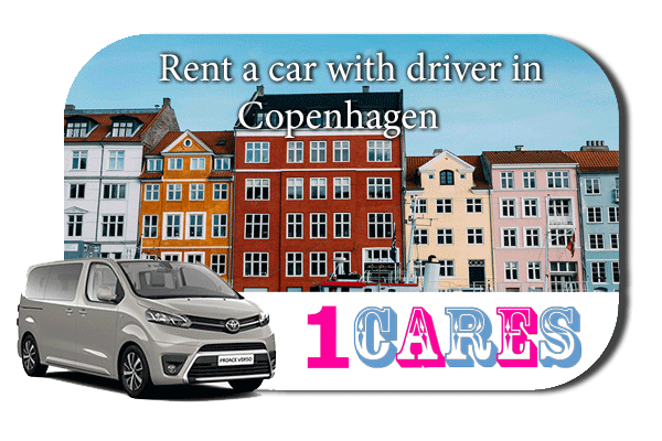 Hire a car with driver in Copenhagen