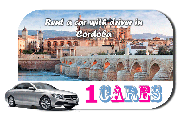 Rent a car with driver in Cordoba