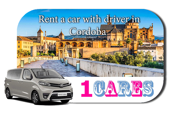 Hire a car with driver in Cordoba