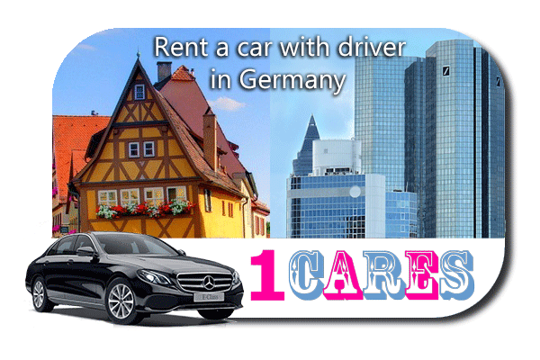 Rent a car with driver in Germany