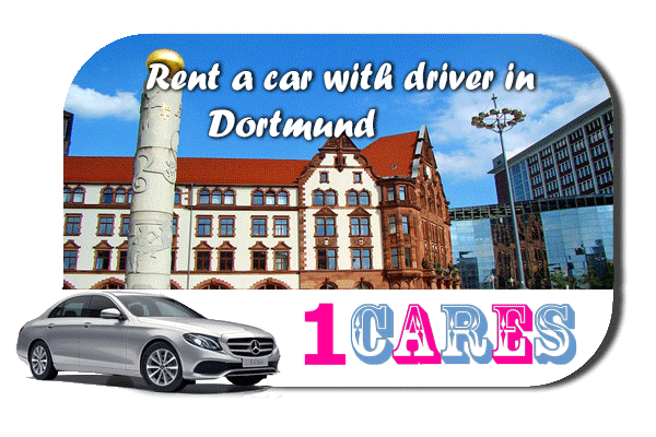 Rent a car with driver in Dortmund
