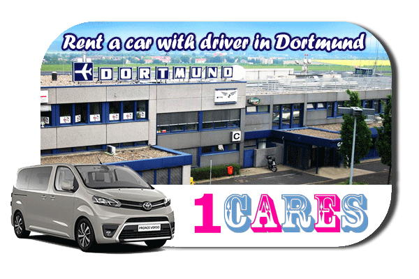 Hire a car with driver in Dortmund