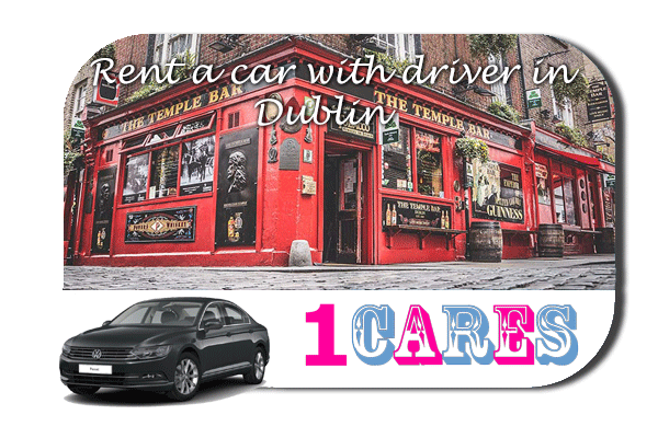 Rent a car with driver in Dublin