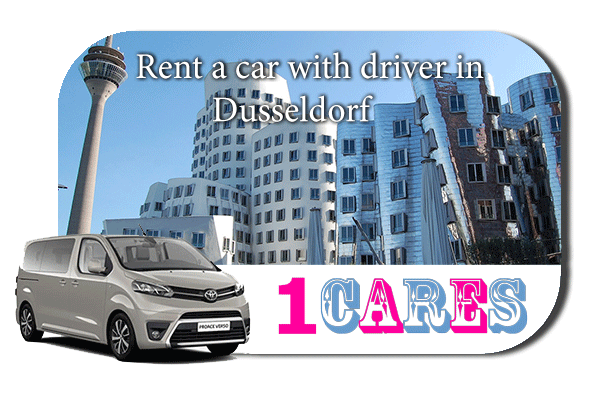 Hire a car with driver in Düsseldorf