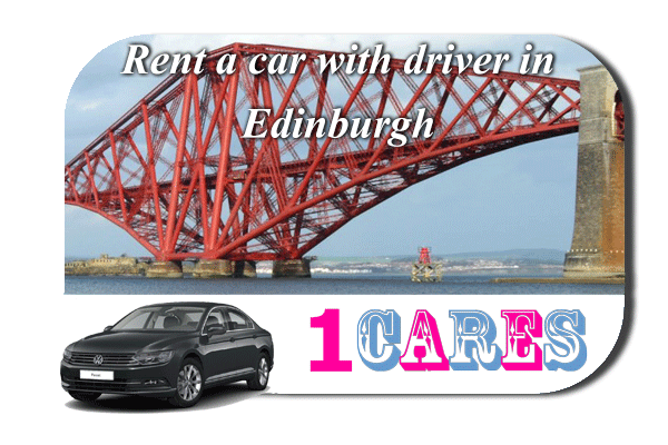Rent a car with driver in Edinburgh