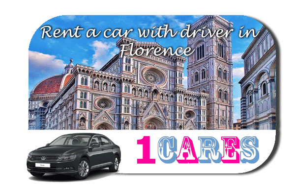 Rent a car with driver in Florence