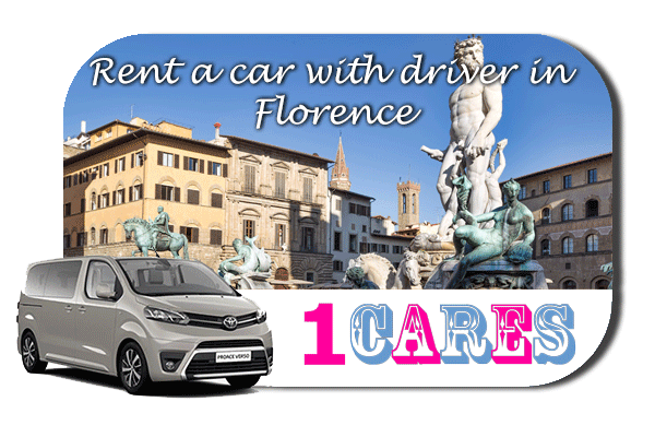 Hire a car with driver in Florence