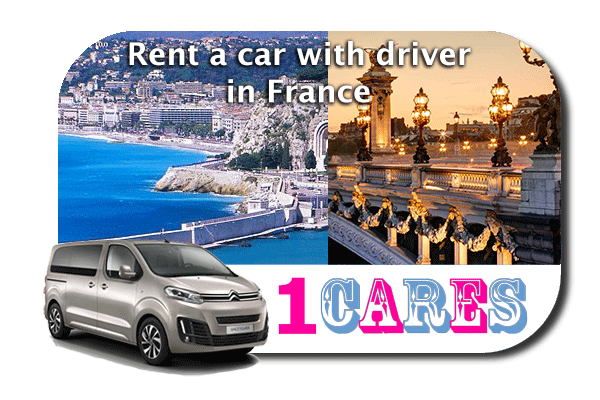 Rent a car with driver in France