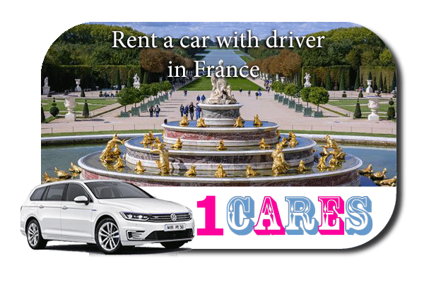 Hire a car with driver in France