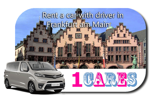Hire a car with driver in Frankfurt