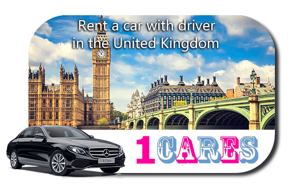 Rent a car with driver in the UK