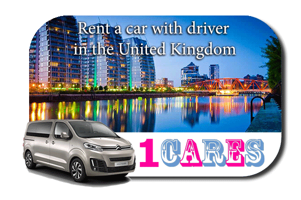 Hire a car with driver in the UK