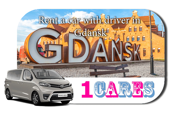 Hire a car with driver in Gdansk